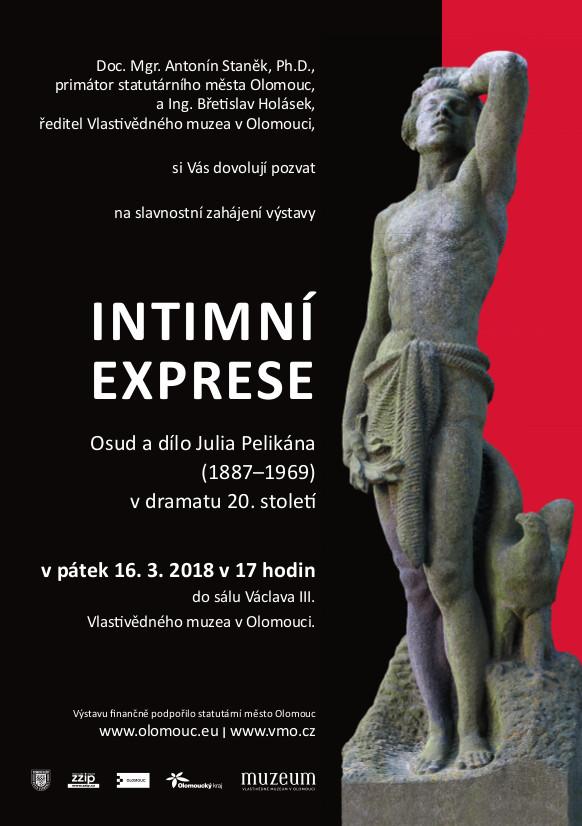 Intimní Exprese –  Osud a dílo Julia Pelikána