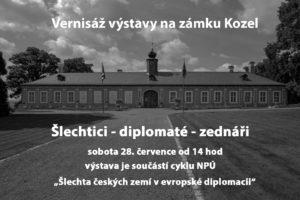 """Vernisáž výstavy """"Šlechtici – diplomaté – zednáři"""""""