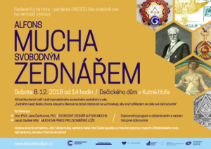 Výstava Alfons Mucha Svobodný zednář