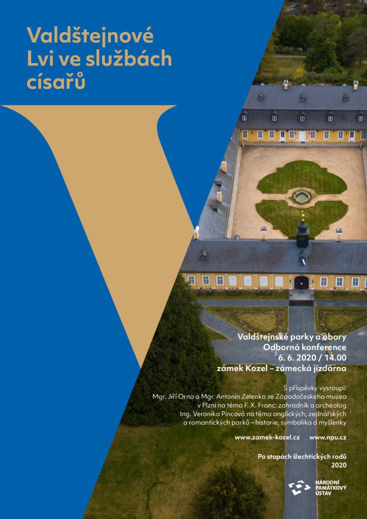 Přednáška Valdštejnské parky a obory